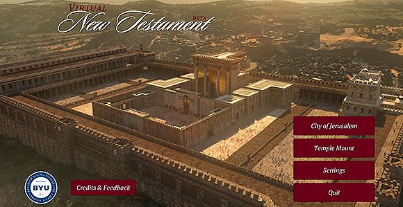 Visit Jesus's Jerusalem with Virtual New Testament App ...