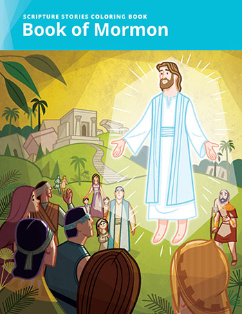 Scripture Stories Coloring Books Bring the Whole Family into the