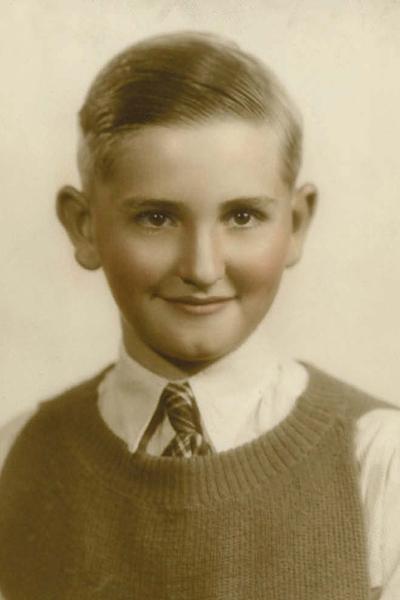 Portrait Of Thomas S Monson As A Child