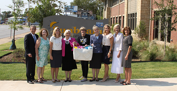 Women Leaders Of The Church Deliver Donations From To Sunbeam Family Services Building In Oklahoma City On August 4