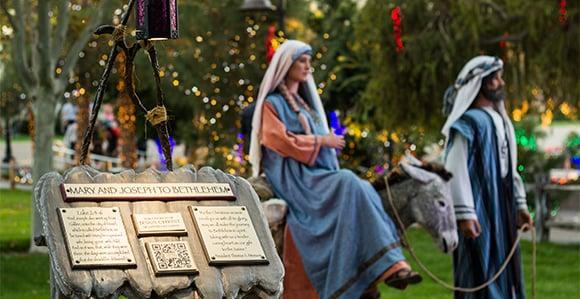 "Christmas Lights Near Me 2020 85204 Wonderful Spirit"" Attends Gardens at Mesa Temple Christmas Lights"