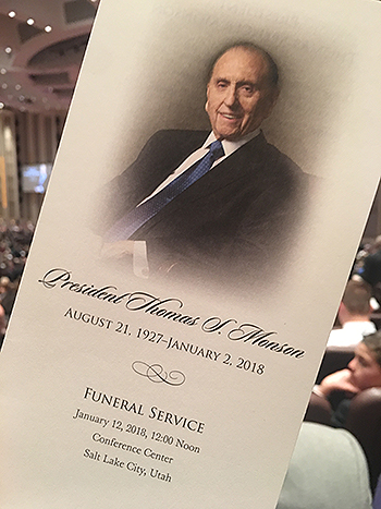Funeral Of President Thomas S Monson Honors A Mighty Prophet Of