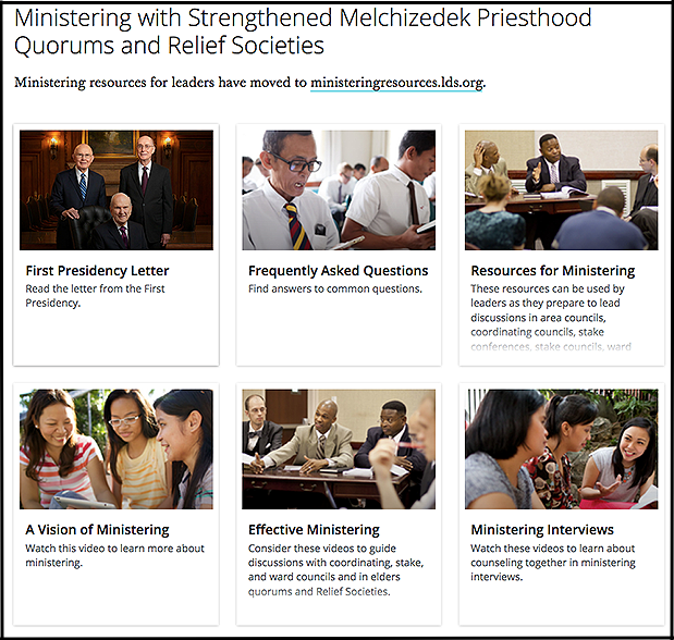 Watch the New Videos about Ministering on LDS.org - Church News and ...