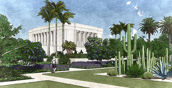 "Refresh"" of Mesa Temple and Grounds to Include Replacement of ..."