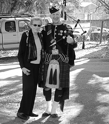 Family History Moment: 89-Year-Old Member Finds Her Scottish Clan
