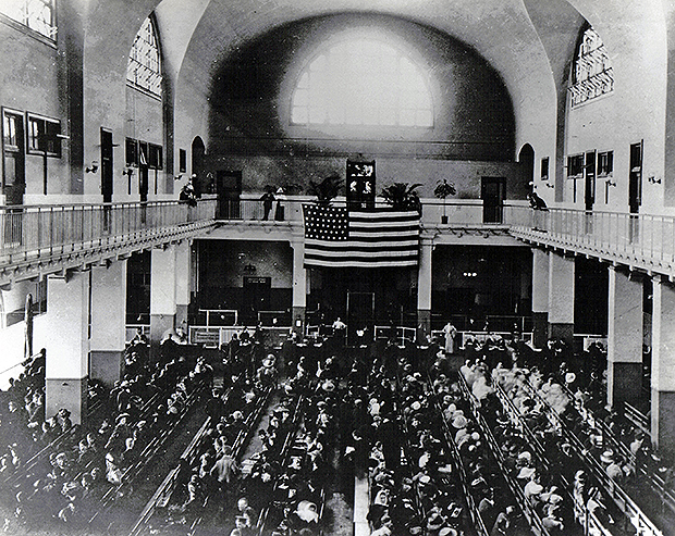 entire ellis island immigrant records now available online - church