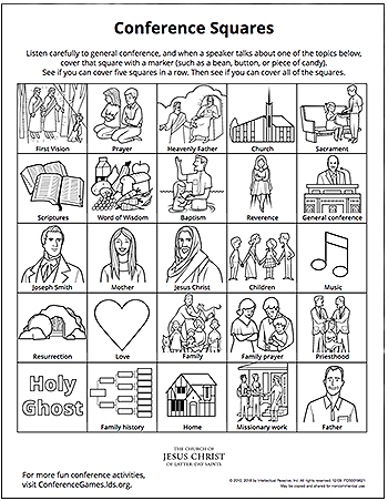 Print These Pages To Help Kids Teens Get More From Conference