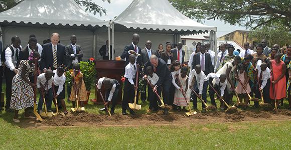 Elder Andersen Presides at Abidjan Ivory Coast Temple Groundbreaking