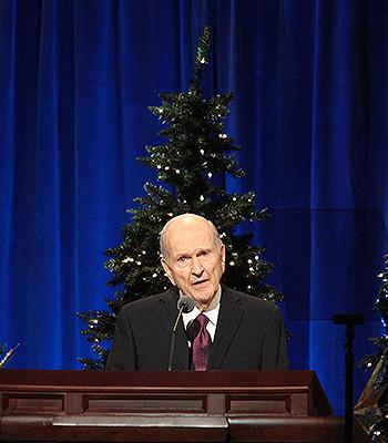 Lds Prophet Christmas Devotional 2020 At Christmas Devotional, President Nelson Addresses Four Gifts