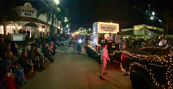 Boynton Beach Christmas Pageant 2020 Lds Florida Latter day Saints #LightTheWorld with Christ Themed Parade
