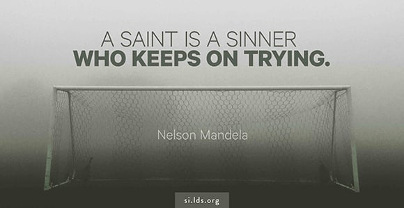 Music And The Spoken Word Nelson Mandela Reminds Us Saints Are Sinners Who Keep On Trying Church News And Events