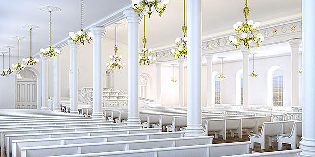 See Church's Plans, Renderings for St  George Temple