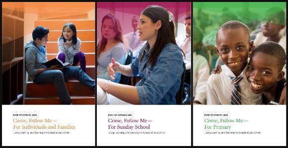 2020 Come, Follow Me Book of Mormon Manuals Now Online
