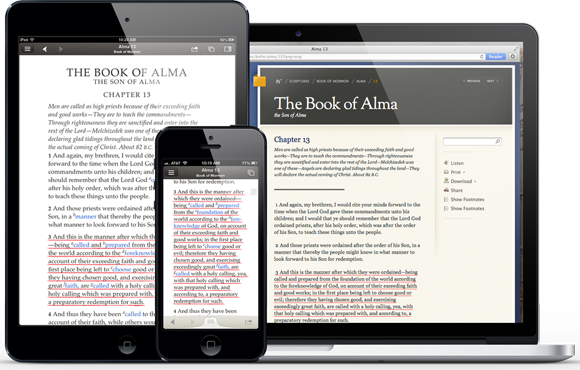 Major Upgrade for Gospel Library App for iOS Devices