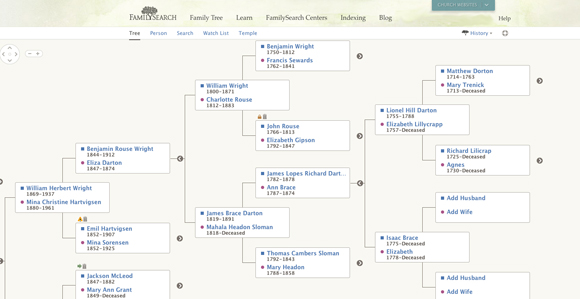 FamilyTree: New FamilySearch Service Promotes Collaboration