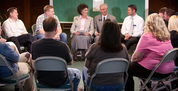 addiction recovery program calls for stories of recovery and healingin preparation for a new website that will give people an experience like an addiction recovery program meeting (shown above), those who direct the arp are