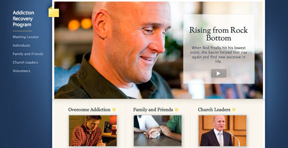 Addiction Recovery Program Site Added to LDS.org - Church News and ...