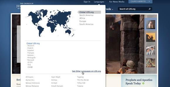 LDS.org ofrece materiales de la Iglesia en 108 idiomas - Noticias y ...