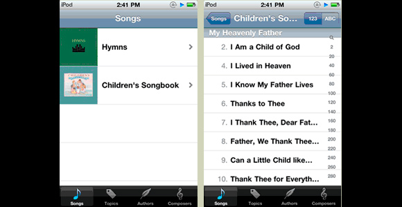 LDS Music App for iOS Released - Church News and Events