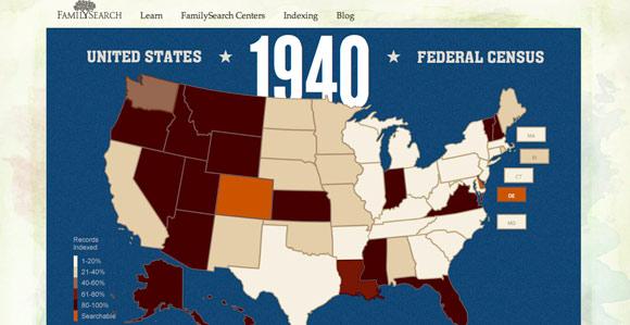 Volunteers Make Record Progress Indexing 1940 U S  Census