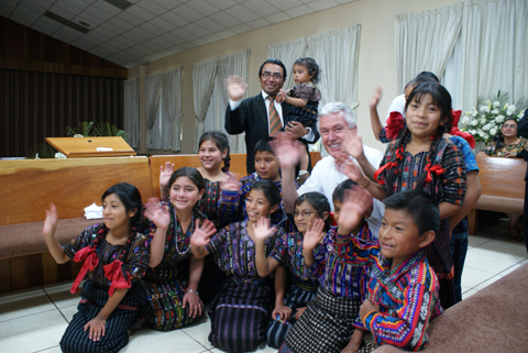 President Uchdorf and Children