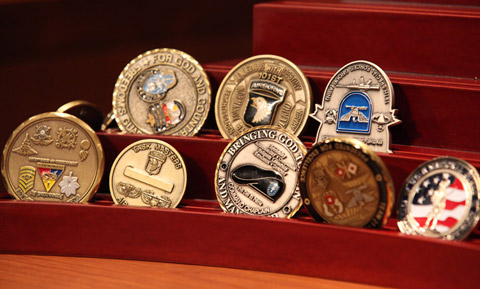 Commander's coins