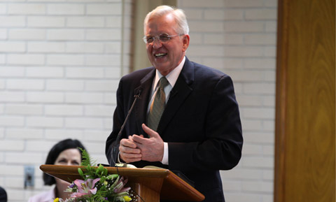 Elder Christofferson speaking