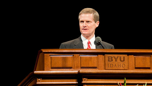 BYU-Zentrum in Idaho, Elder Bednar