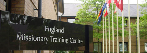 England Missionary Training Center Exterior