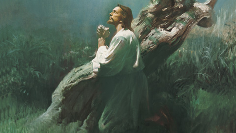 Jesus Christ in Gethsemane