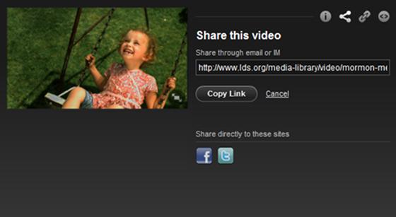 Sharing videos using airdrop
