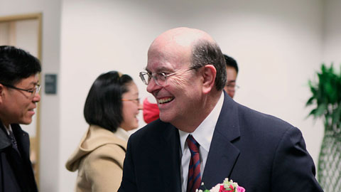 Elder Cook in South Korea