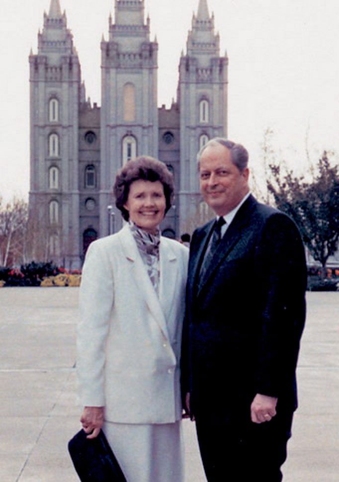 Elder and Sister Hales