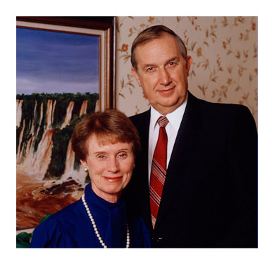 Elder and Sister Scott