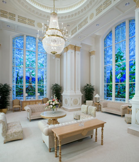 Celestial Room in LDS Temple