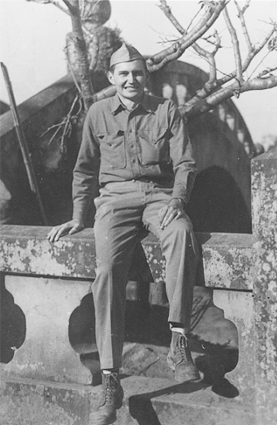 L. Tom Perry in Marine Corps