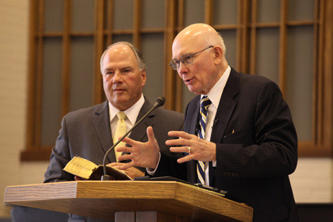 Elder Oaks and Elder Rasband respond to questions