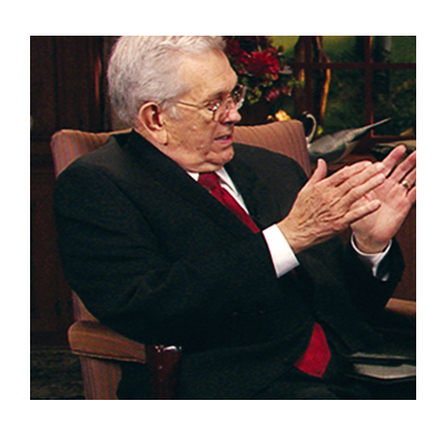 President packer at world wide leadership training