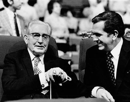 Elder Packer and President Hugh B. Brown