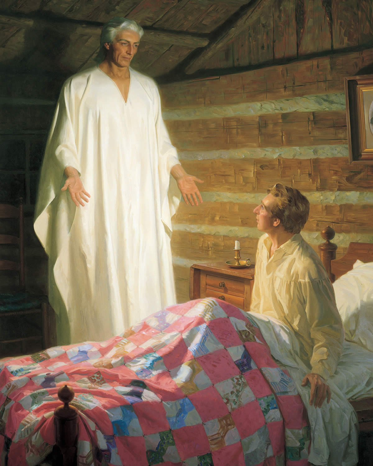 Angel Moroni appears to Joseph Smith