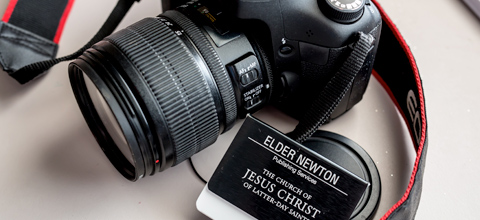 Camera and missionary tag