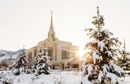 Snow at Ogden Temple