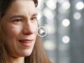 woman talking