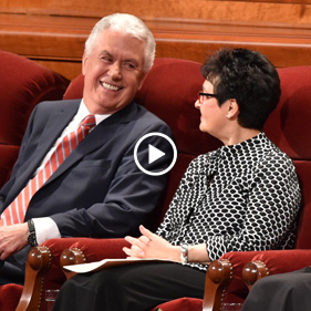 Elder and Sister Uchtdorf