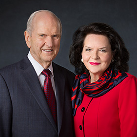 Russell M. Nelson 회장의 사진