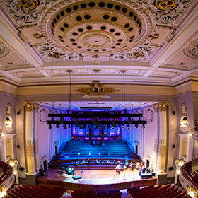 Usher Hall in Edinburgh, Scotland