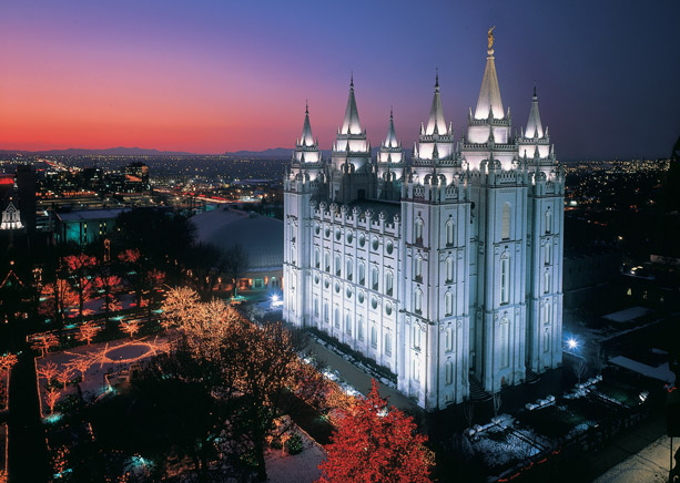 Temple Square and Church Headquarters