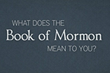 How the Book of Mormon Changed My Life