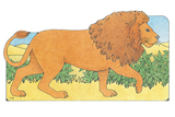 Primary Cutout Illustration Lion
