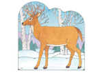 Primary Cutout Illustration Deer